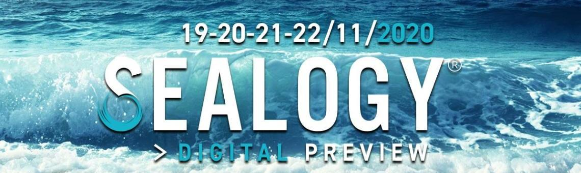 Imagem promocional do evento Sealogy Digital Preview