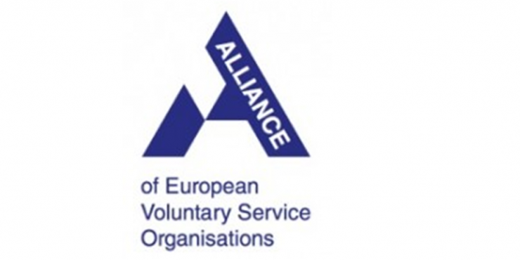 Logótipo da Alliance of European Voluntary Service Organisations