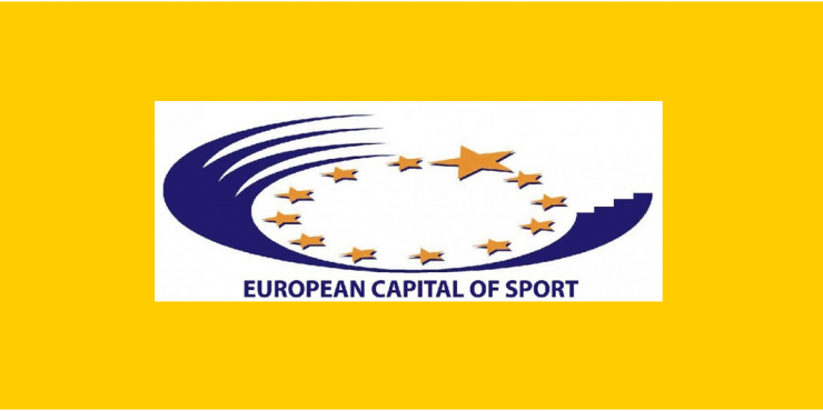 Logótipo das Capitais Europeias do Desporto