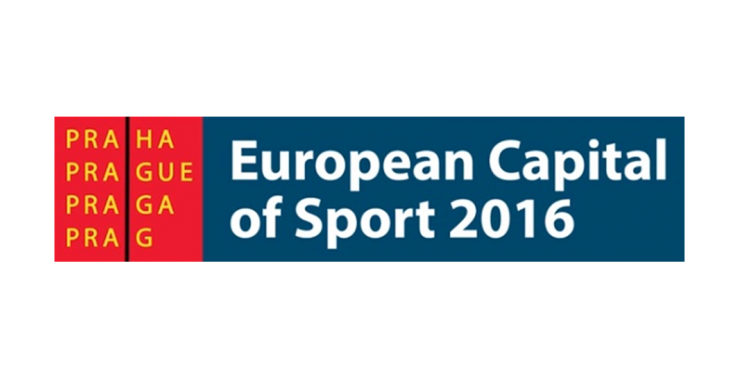 Logótipo da Capital Europeia do Desporto 2016 - Praga