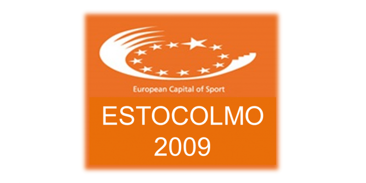 Logótipo da Capital Europeia do Desporto 2002 - Estocolmo