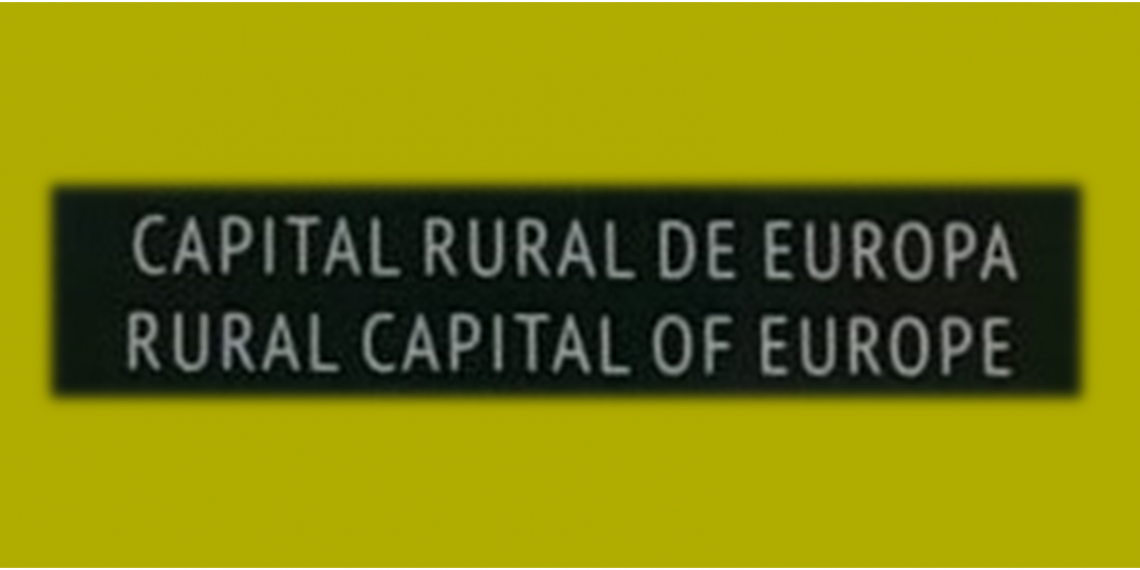 Logótipo das Capitais Rurais Europeias