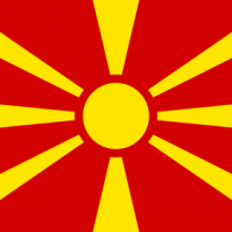 Bandeira da Macedónia do Norte