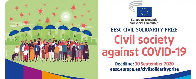 EESC Civil Solidarity Prize banner